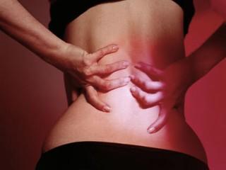 Dolor en el centro de la espalda