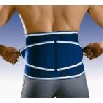 Faja lumbar para el dolor de espalda